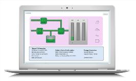 Netbiter Argos UPS dashboard