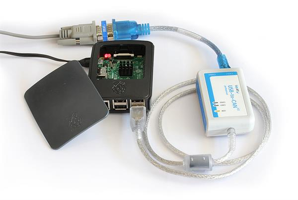 Raspberry Pi and USB-to-CAN V2