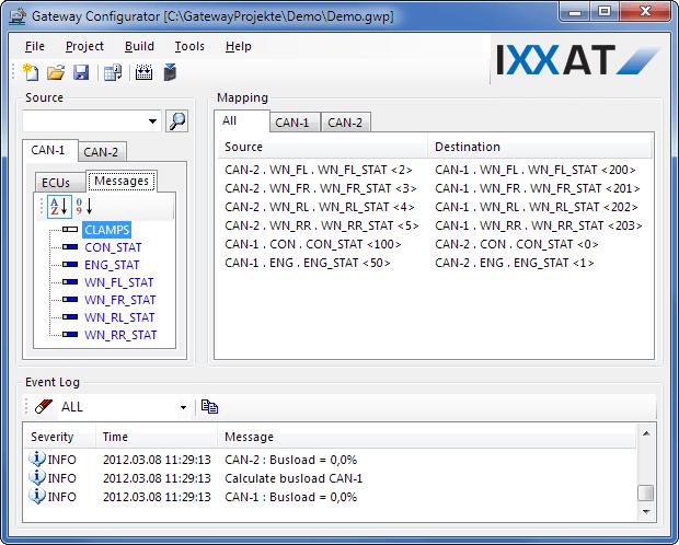 CANbridge Gateway Configurator